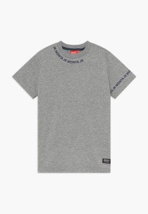 TARAZ - T-shirt med print - heather grey