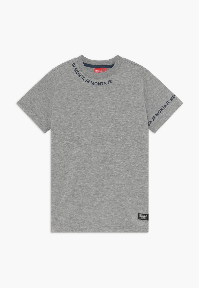 Monta Juniors - TARAZ - T-shirts med print - heather grey