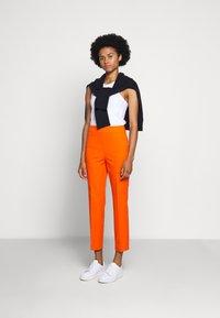 J.CREW - GEORGIE PANT - Trousers - spicy orange - 1