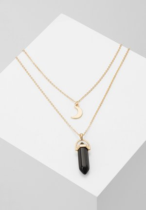 ALIKA - Necklace - gold-coloured/schwarz