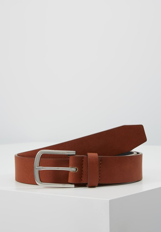UNISEX - Belt - cognac