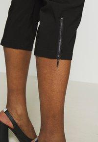 Ciso - BENGALIN 3/4 - Pantalon classique - black - 4