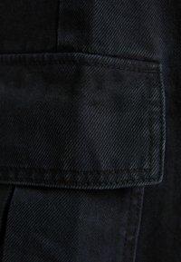 Bershka - Pantaloni cargo - black - 5