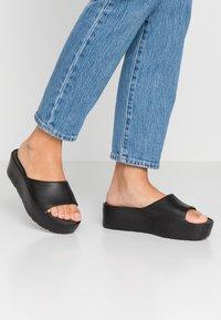 LEMON JELLY - SUNNY - Heeled mules - black - 0