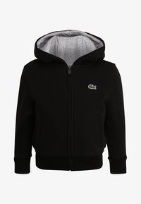 Lacoste Sport - TENNIS - Zip-up hoodie - noir/argent chine - 0