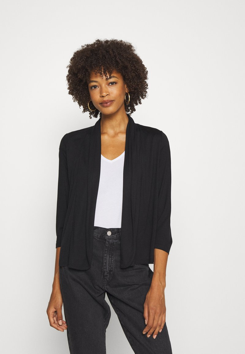Opus - DAILY - Cardigan - black