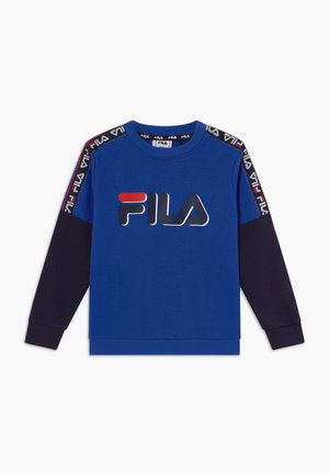 DIEGO TAPED LOGO CREW - Sweater - dazzling blue/black iris