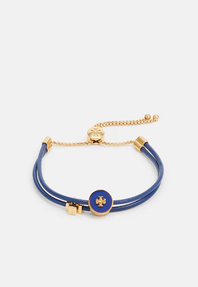 KIRA SLIDER BRACELET - Náramek - gold-coloured/nautical blue