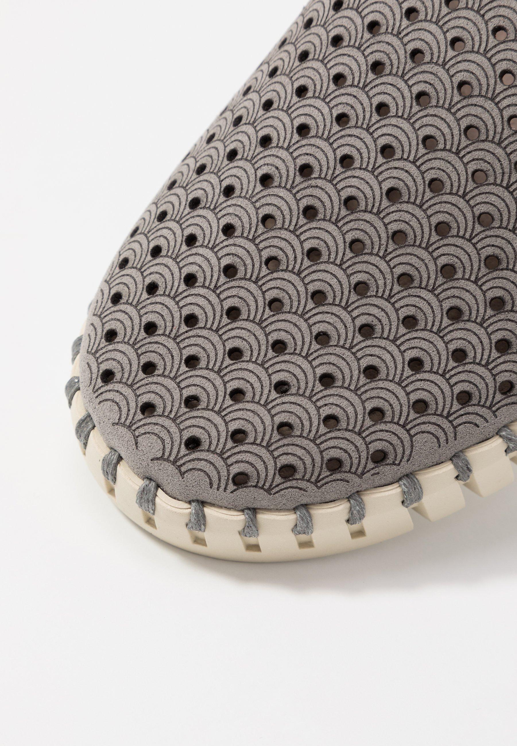 Ilse Jacobsen TULIP - Mocassins - grey - Mocassins & Chaussures bateau femme Classique