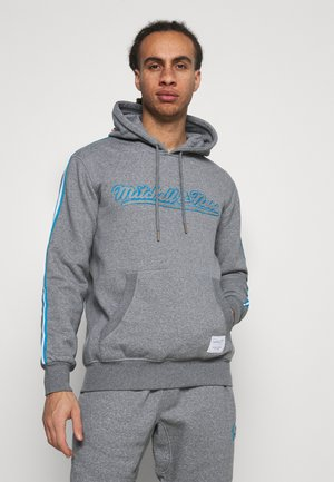 OWN BRAND TRACK HOODIE - Mikina s kapucí - grey heather