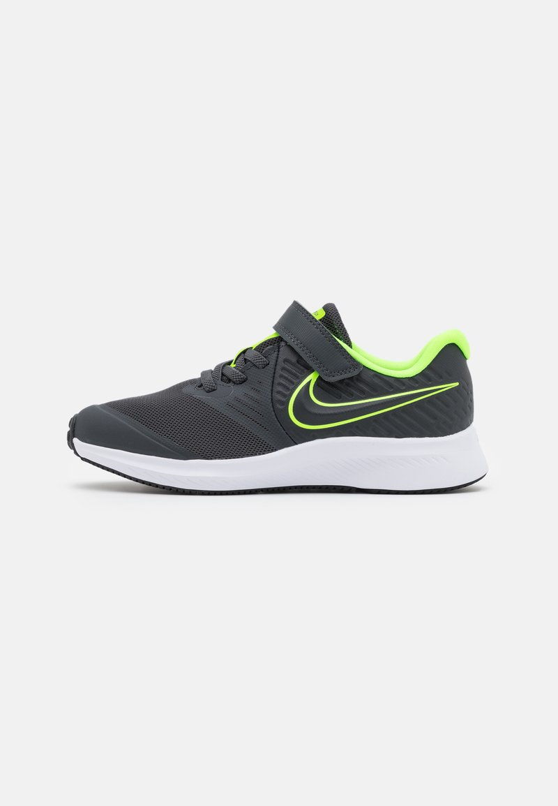 Nike Performance - STAR RUNNER 2 UNISEX - Hardloopschoenen neutraal - anthracite/electric green/white
