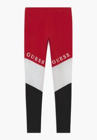 Guess - JUNIOR EXCLUSIVE - Legginsy - red - 0