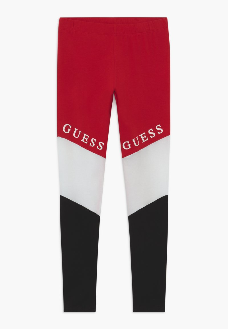 Guess - JUNIOR EXCLUSIVE - Legíny - red
