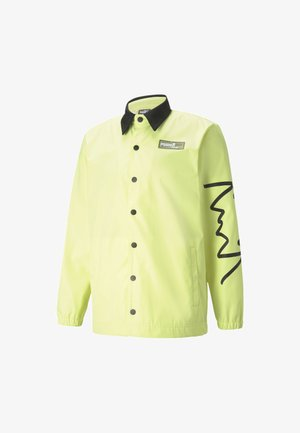Outdoor jacket - soft fluo yellow