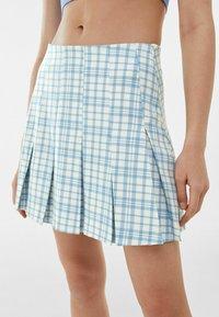 Bershka - BOX - Mini skirt - blue - 3