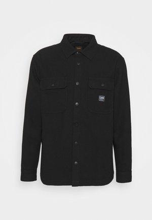 WORKWEAR OVERSHIRT - Denim jacket - black