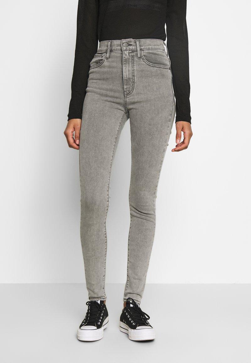 Levi's® - MILE HIGH SUPER SKINNY - Jeans Skinny - grey denim
