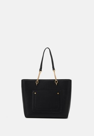 SLIP POCKET CHAIN HANDLE - Sac à main - black