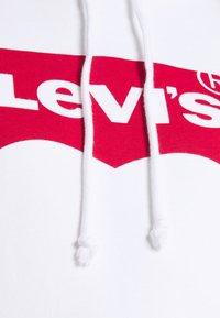Levi's® - GRAPHIC STANDARD HOODIE - Felpa con cappuccio - white - 5