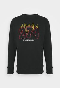 VARSITY CREW - Sweatshirt - black