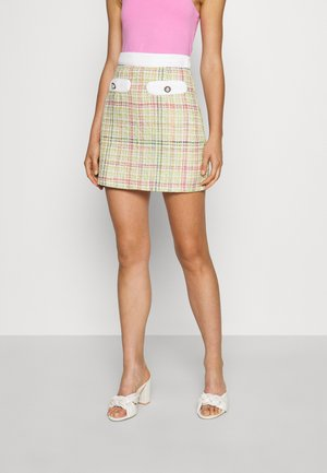 NORA TWEED SKIRT - Mini skirt - multi
