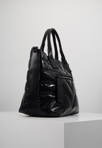 River Island - QUILTED SHOPPER - Tote bag - black - 3