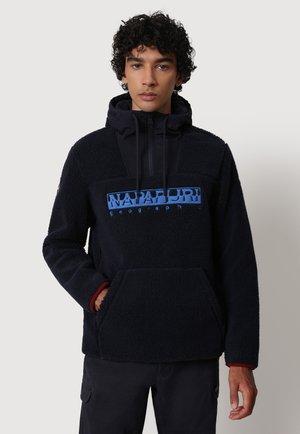 TEIDE  - Felpa in pile - blu marine