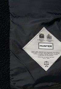 Hunter ORIGINAL - WOMENS ORIGINAL PUFFER JACKET - Winter coat - black - 5