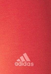 adidas Performance - Leggings - crew red/hazy rose - 6