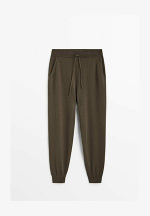 Tracksuit bottoms - brown