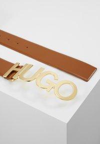 HUGO - ZULA BELT  - Ceinture - cognac - 2