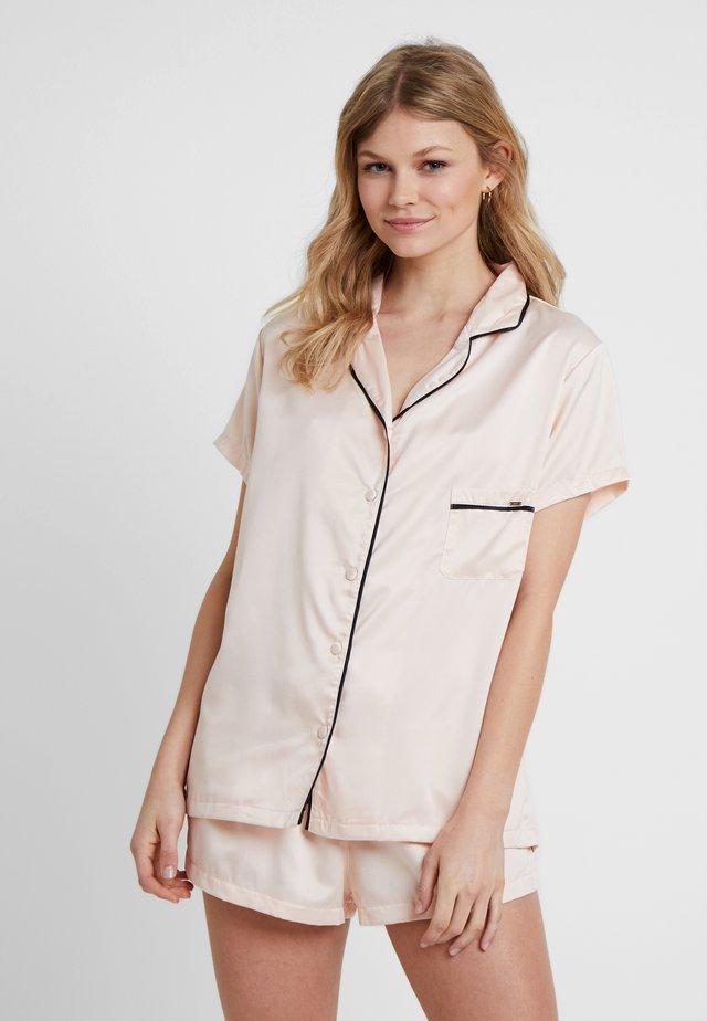 ABIGAIL - Pyjama set - pale pink/black