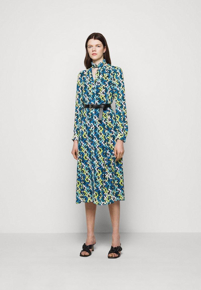 MICHAEL Michael Kors - FLORAL KATE  - Shirt dress - limeade