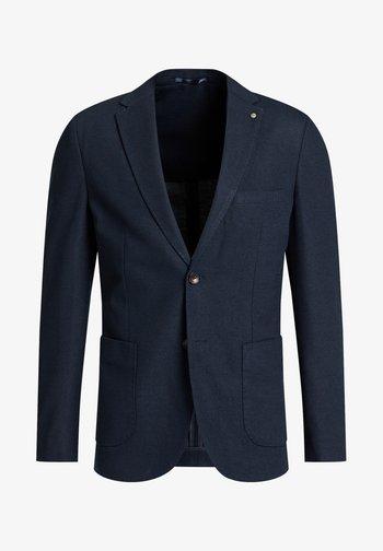 SLIM FIT  - Suit jacket - dark blue
