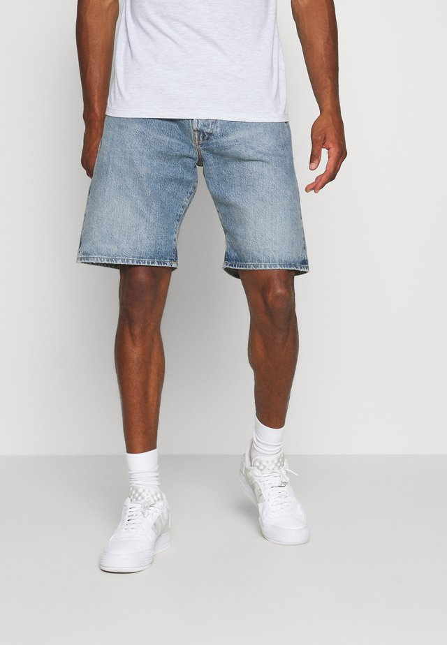 JJICHRIS  - Denim shorts - blue denim