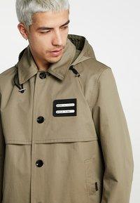 Diesel - J-KODORY JACKET - Short coat - beige/olive - 3