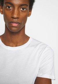 LTB - 3 PACK MULTI - Basic T-shirt - navy/bordeaux/white - 6
