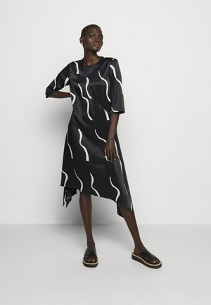 VUOSI LAUHA DRESS - Day dress - black/light beige