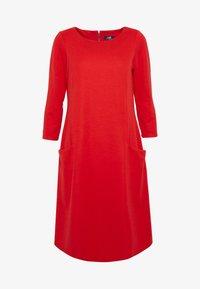 Wallis - BUCKET POCKET SWING DRESS - Jersey dress - red - 3