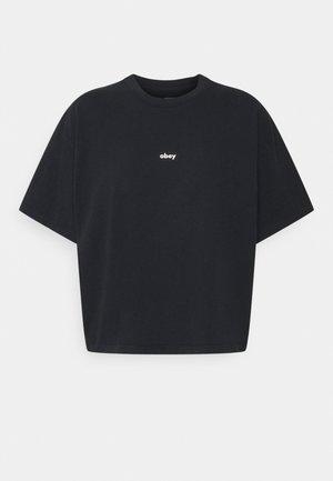 TAG - Jednoduché triko - black
