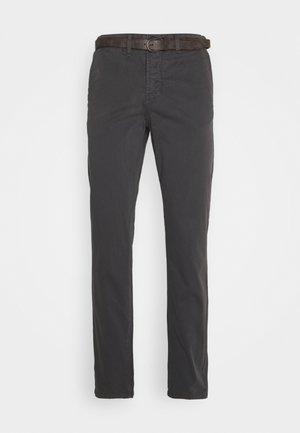 JJICODY JJSPENCER - Trousers - dark grey