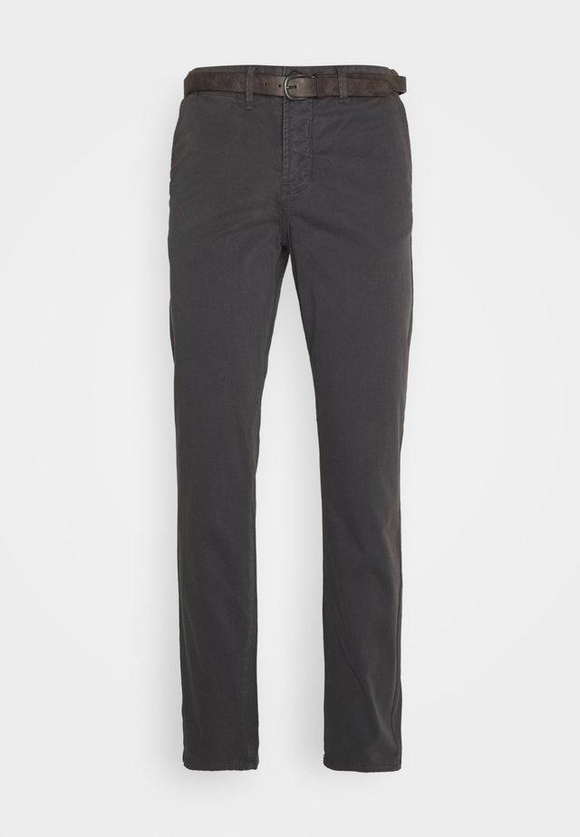 JJICODY JJSPENCER - Pantaloni - dark grey