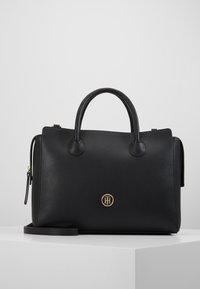 Tommy Hilfiger - CHARMING SATCHEL - Handbag - black - 0