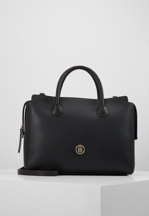 CHARMING SATCHEL - Käsilaukku - black