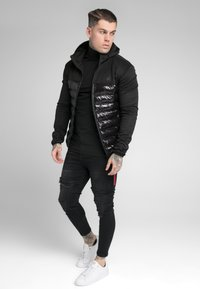 SIKSILK - NEO BUBBLE JACKET - Jas - black - 1
