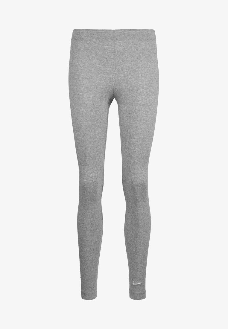 Nike Sportswear - CLUB - Legíny - dark grey heather