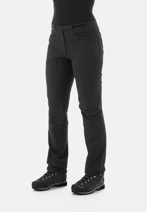 COURMAYEUR - Outdoor trousers - black