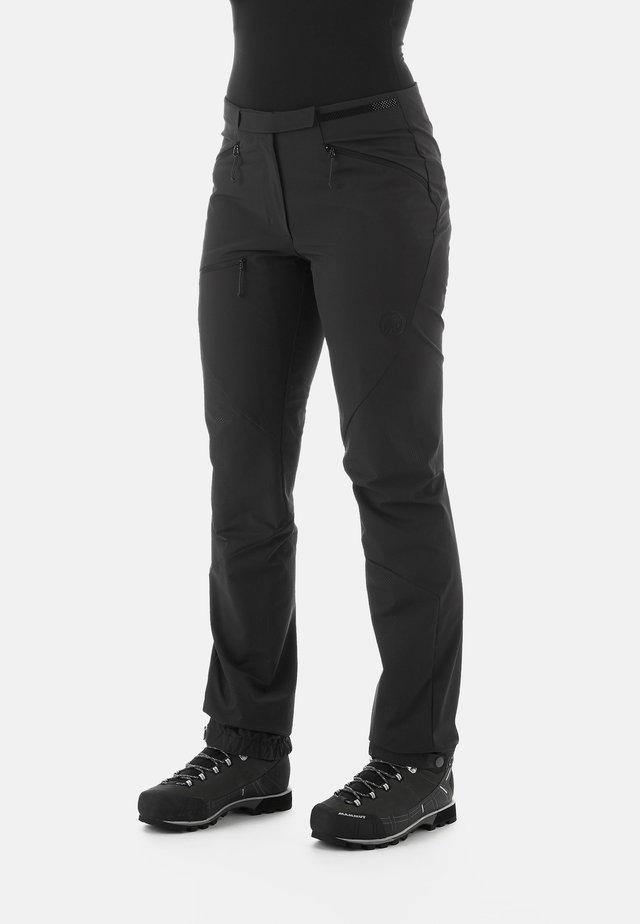 COURMAYEUR - Pantalons outdoor - black