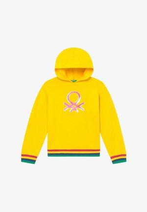 Hoodie - yellow