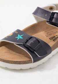 Walnut - Sandals - dark blue - 5
